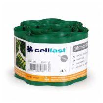 Cellfast hullámos elválasztó szegély - 10cm / 9m / sötétzöld