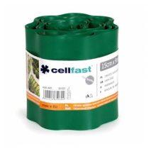 Cellfast hullámos elválasztó szegély - 15cm / 9m / sötétzöld