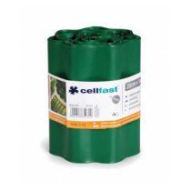 Cellfast hullámos elválasztó szegély - 20cm / 9m / sötétzöld