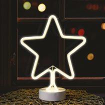 Dekortrend neon ablakdísz csillag motivum |DT_KDA_103|