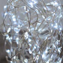 Dekortrend Tündérfény dekorfüzér 50 LED hideg fehér |DT_KDE_252|