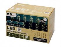 Dekortrend Kültéri METEOR LED fényfüggöny 2x1 m 480 LED MELEG FEHÉR