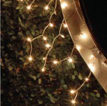 Dekortrend Kültéri KONTAKT LED jégcsapfüzér 101 db MELEG FEHÉR LED-del 3 x 0,4 m |DT_KDK 005|