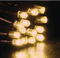Dekortrend Kültéri KONTAKT LED fényfüggöny 140 db MELEG FEHÉR LED-del 2 x 1 m