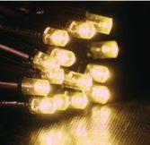 Dekortrend Kültéri KONTAKT LED fényfüggöny 280 db MELEG FEHÉR LED-del 1 x 4 m  DT_KDK 011 