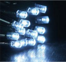 Dekortrend Kültéri KONTAKT LED fényfüggöny 140 db HIDEG FEHÉR LED-del 2 x 1 m