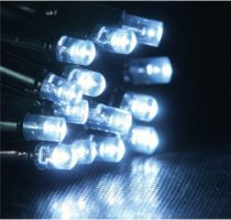 Dekortrend Kültéri KONTAKT LED fényfüggöny 280 db HIDEG FEHÉR LED-del 1 x 4 m |DT_KDK 014|