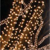 Dekortrend Kültéri KONTAKT LED Jégszikrázó fényfüzér 80 db MELEG FEHÉR és 20 db villogó HIDEG FEHÉR