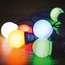Dekortrend Kertiparti fénysor 5 opál égő RGB |DT_KDK_306|
