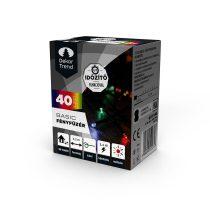Dekortrend Kültéri LED Fényfüzér 40 db SZÍNES LED-del, timer funkcióval