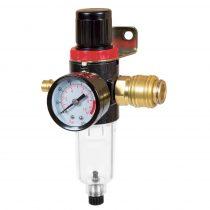 Einhell 1/4-es nyomásszabályzóval ellátott olajleválasztó, kompresszor tartozék