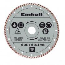 Einhell Gyémánt vágókorong 200 mm, szegmentált |4301175|