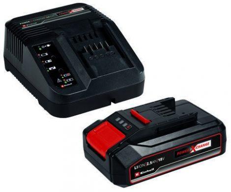 Einhell 2,5Ah 18V Power-X-Change Starter-Kit akku+töltő