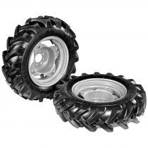 Eurokomax Levegős traktor kerekek 5.00-12 (állítható tárcsák) ekéhez (pár)