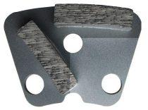 Gyémánt csiszoló szegmens DR.SCHULZE DRS-2DS-A40 H10mm abrazív betonra - közepesen durva felület