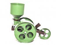 Eurokomax R2 mini farmer rezgőnyelves vetőgép (dupla kerekes, nyél nélkül)