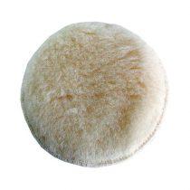 Extol Craft polír korong, fehér, báránybőr; 125 mm, 407201, 8894201 és 8894202 excenter csiszolókhoz