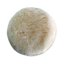 Extol Craft polír korong, fehér, báránybőr; 150 mm 407201, 8894201 és 8894202 excenter csiszolókhoz |10626|