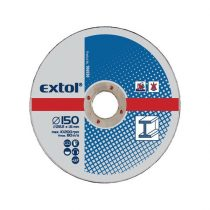 Extol Craft vágókorong fémhez; 125×1,6×22,2mm,max. 12.200 ford/perc, (darabáras, de csak ötösével rendelhető) |106920|