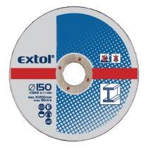 Extol Craft vágókorong fémhez; 115×2,5×22,2mm, (darabáras, de csak ötösével rendelhető)  108010 