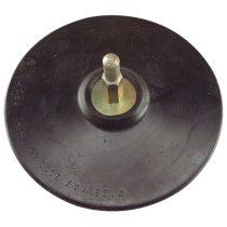 Extol Craft gumitányér fúrógéphez; 125mm tépőzáras