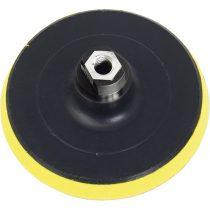 Extol Craft gumitányér sarokcsiszolóhoz; 115mm, tépőzáras, max. ford.:12.500 1/min