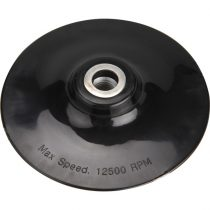 Extol Craft gumitányér sarokcsiszolóhoz; 125mm, M14, lágy, max. 12.500 ford./perc