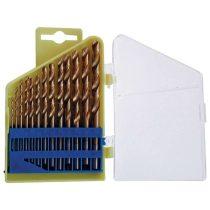 Extol Craft fémfúró klt. HSS TITÁN bevonatú; 13db, 1,5- 6,5mm (műanyag dobozban)