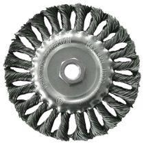 Extol Craft drótcsiszoló körkefe  sodort, M14×2 sarokcsiszolóra; 100mm, ford.: 11000/perc