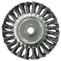 Extol Craft drótcsiszoló körkefe  sodort, M14×2 sarokcsiszolóra; 115mm, 11000 ford/perc