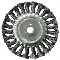 Extol Craft drótcsiszoló körkefe  sodort, M14×2 sarokcsiszolóra; 125mm, ford.: 12500/perc
