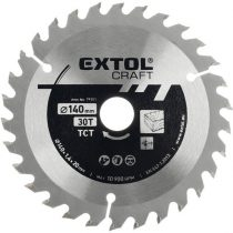 Extol Craft körfűrészlap, keményfémlapkás, 210×30mm(lyuk átm), T60; 2,7 mm lapkaszélesség, max. 7.200 ford/perc |19110|