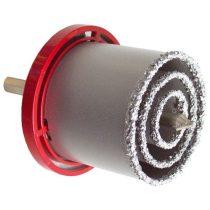 EXTOL körkivágó klt. volfrám; (33-53-73mm) téglához, csempéhez, fúrógépbe fogható, hexagonális befogás