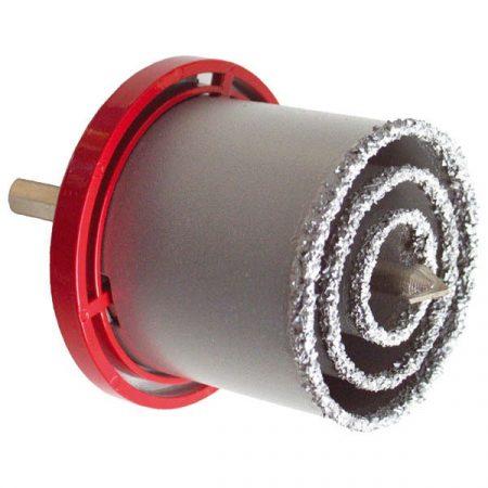 Extol Craft körkivágó klt. volfrám; (33-53-73mm) téglához, csempéhez, fúrógépbe fogható, hexagonális befogás  19600 