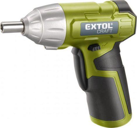 Extol Craft akkus csavarbehajtó, Li-ion; 3,6V, 1300 mAh, ford.: 180 1/min |402113|