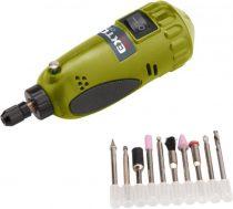 Extol Craft mini köszörű és fúrógép; 15.000 ford/perc, befogás: 3,2mm, max. fejátmérő: 35mm |404121|