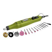 Extol Craft mini köszörű és fúrógép + tartozék klt. 18V; adapterrel (tartalék kő: 73412) |404122|