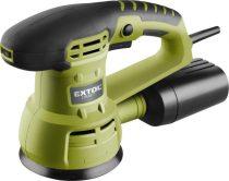 Extol Craft rotációs (excentrikus) csiszológép 430W; átmérő:125mm, ford.:5000-13000
