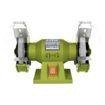 Extol Craft kettős köszörűgép 150W,száraz,125×12,7×16mm; 2950 ford/perc, P36, P80, 6kg |410120|
