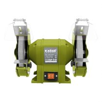 Extol Craft kettős köszörűgép 350W, száraz, 200×16×20mm; 2950 ford/perc, P36, P80, 11kg  410130 