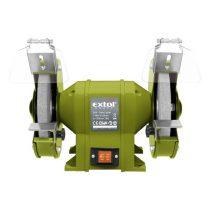 Extol Craft kettős köszörűgép 350W, száraz, 200×16×20mm; 2950 ford/perc, P36, P80, 11kg |410130|