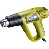 Extol Craft hőlégfúvó, 2000W két fokozatú, 1000W/2000W; 350/550°C, 300/500 L/perc |411013|