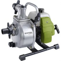 "EXTOL benzinmotoros szivattyú, 1,45 kW, kétütemű, 1,5"", max. 250 liter/perc, max. 35 m"