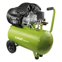 Extol Craft olajos légkompresszor, 2200W, 50l tartály, 8 bar; 412l/min