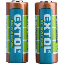 Extol Light elem klt. 2 db, alkáli, 12V, méret: (23A); hosszú étettartam, bliszteren |42017|