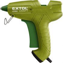 EXTOL melegragasztó pisztoly, 65W, stift átmérő:11mm, bliszteren