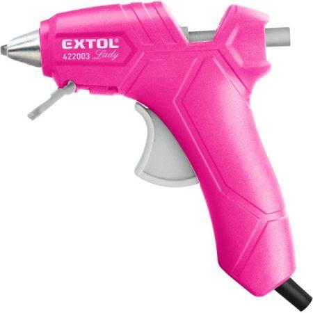 Extol Lady melegragasztó pisztoly, 25 W, stift átmérő: 7,2 mm, Extol Lady, bliszteren |422003|