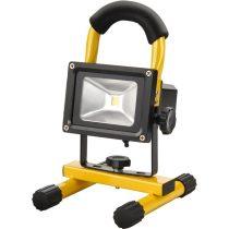 EXTOL LIGHT hordozható LED lámpa (reflektor), 10W, 800 lm, IP65, Li-ion akkus tölthető