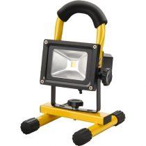 Extol Craft hordozható LED lámpa (reflektor), 10W, 800 lm; IP65, Li-ion akkus tölthető |43122|