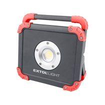 Extol LED lámpa, 20 W, COB LED; 2000 Lm, újratölthető Li-ion akkus, 6600 mAh, IP54 |43134|